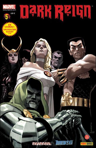 Avis/critiques Comics DarkReign5