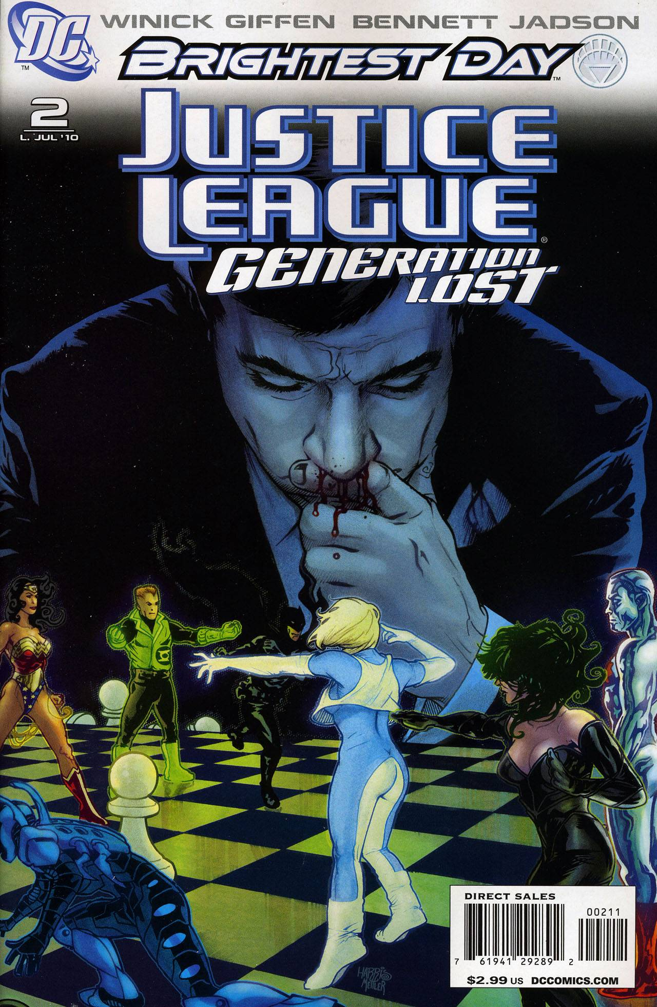 JusticeLeagueGenerationLost2 ComixWeekly #2