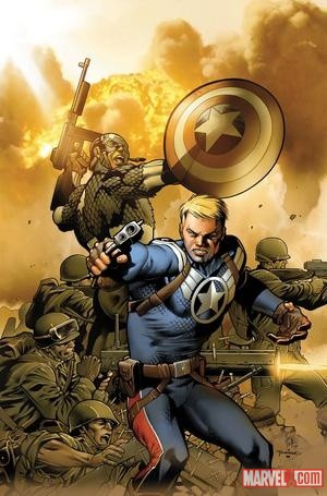 Steve Rogers by Carlos Pacheco Marvel Top 10