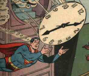 superman horloge Premire question de la journe !