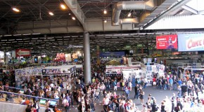 Back from Comic Con Paris!