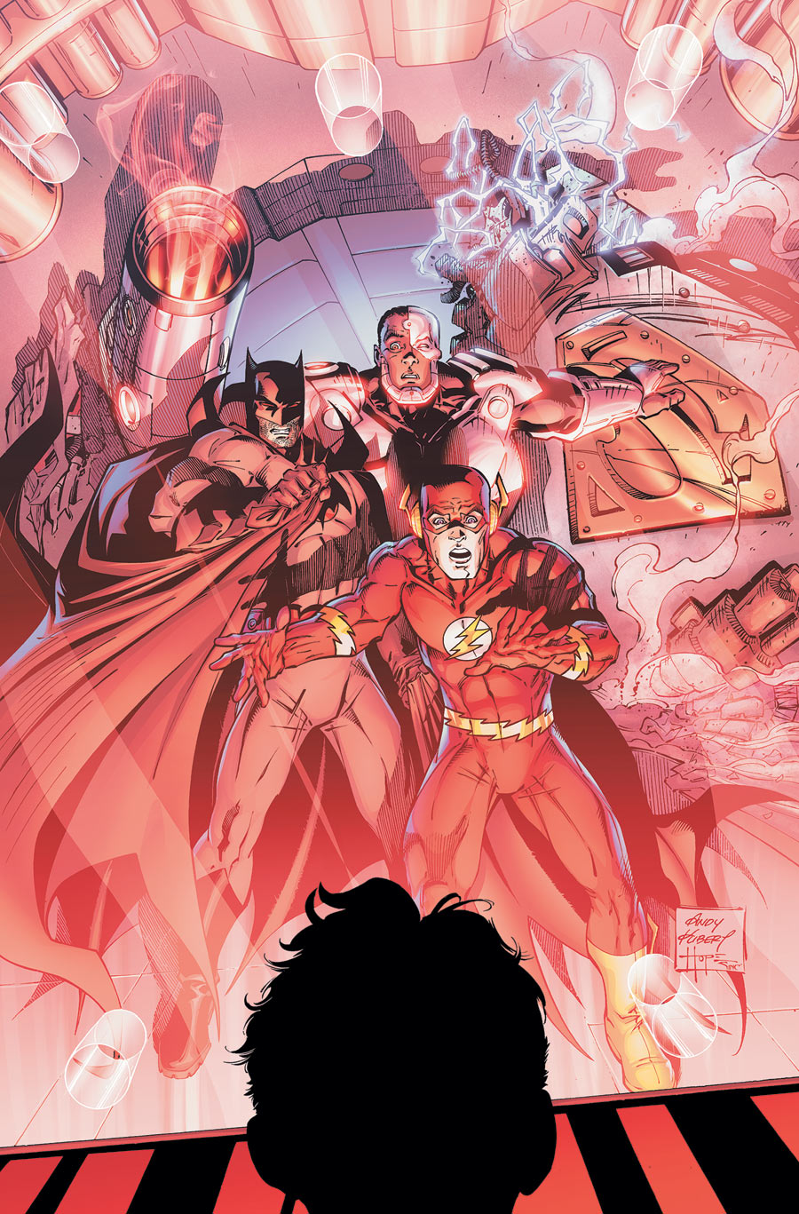 FLASHPOINT 3 CVR solicit Guide de lecture VO : semaine du 6 juillet 2011   super hros