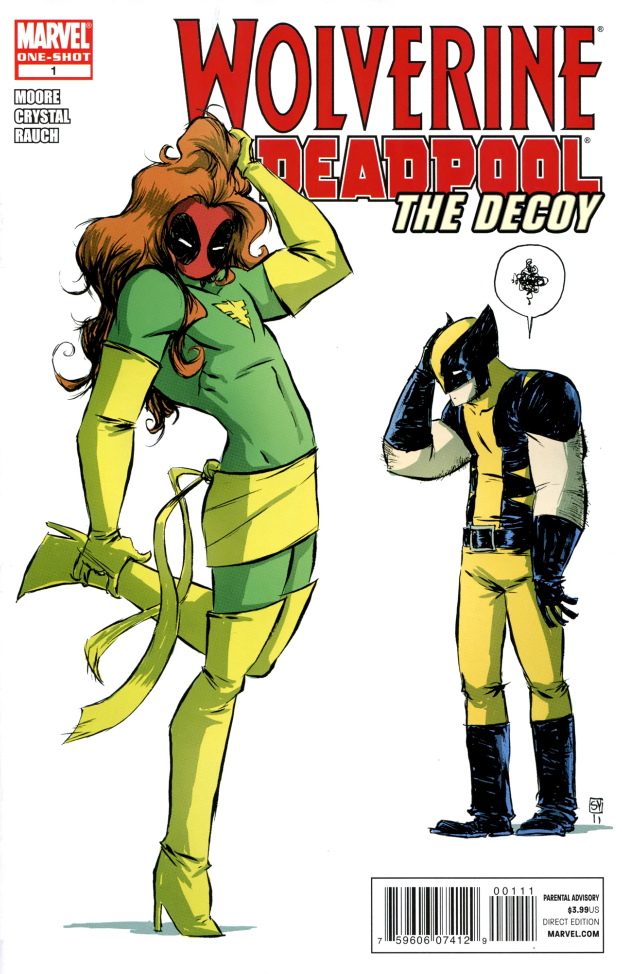 Wolverine & Deadpool : The Decoy