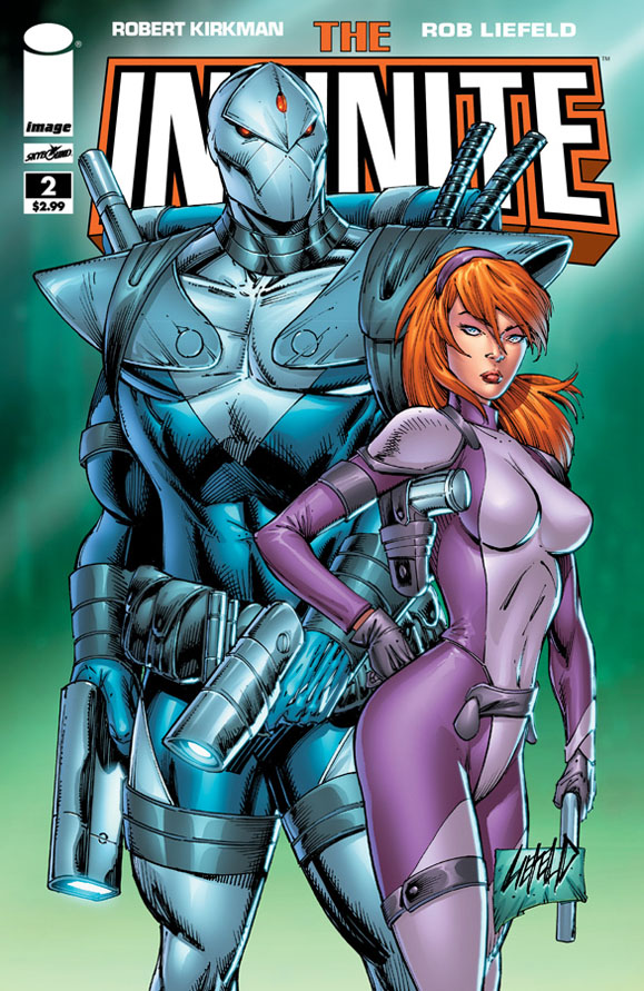Rob Liefeld TheInfinite02Cvr 50IncentiveA News du jour : X Men, Forgiven, Infinite