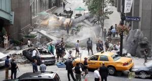 GV's: 'The Avengers' Filmset In New York
