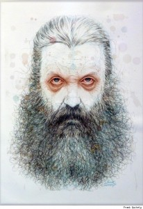 Alan Moore par Frank Quitely