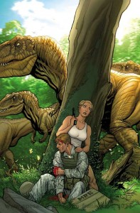 guns and dinos 2 color frank cho s 197x300 News du jour : Guns and dinos 2, Relaunch DC, Panini 2012, classement ventes août 2011