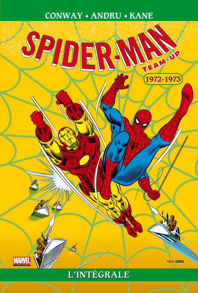 Spider-Man Teamp Up 1972-1973