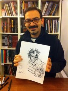 Humberto et mon sketch !