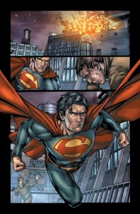 supermanearthonev2page1 197x300 Wonder Con 2012 pisode 2 : DC
