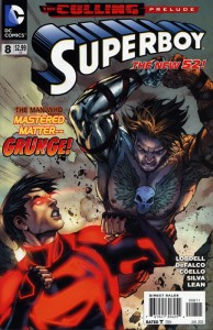Cover Superboy 8 194x300 Unspoken VO : Superboy 8   The Culling Prelude (1)
