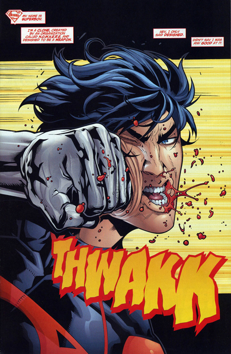 Planche Superboy 8 Unspoken VO : Superboy 8   The Culling Prelude (1)