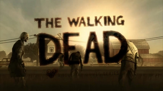 title screen walking dead The Walking Dead   The Game   Episode 1