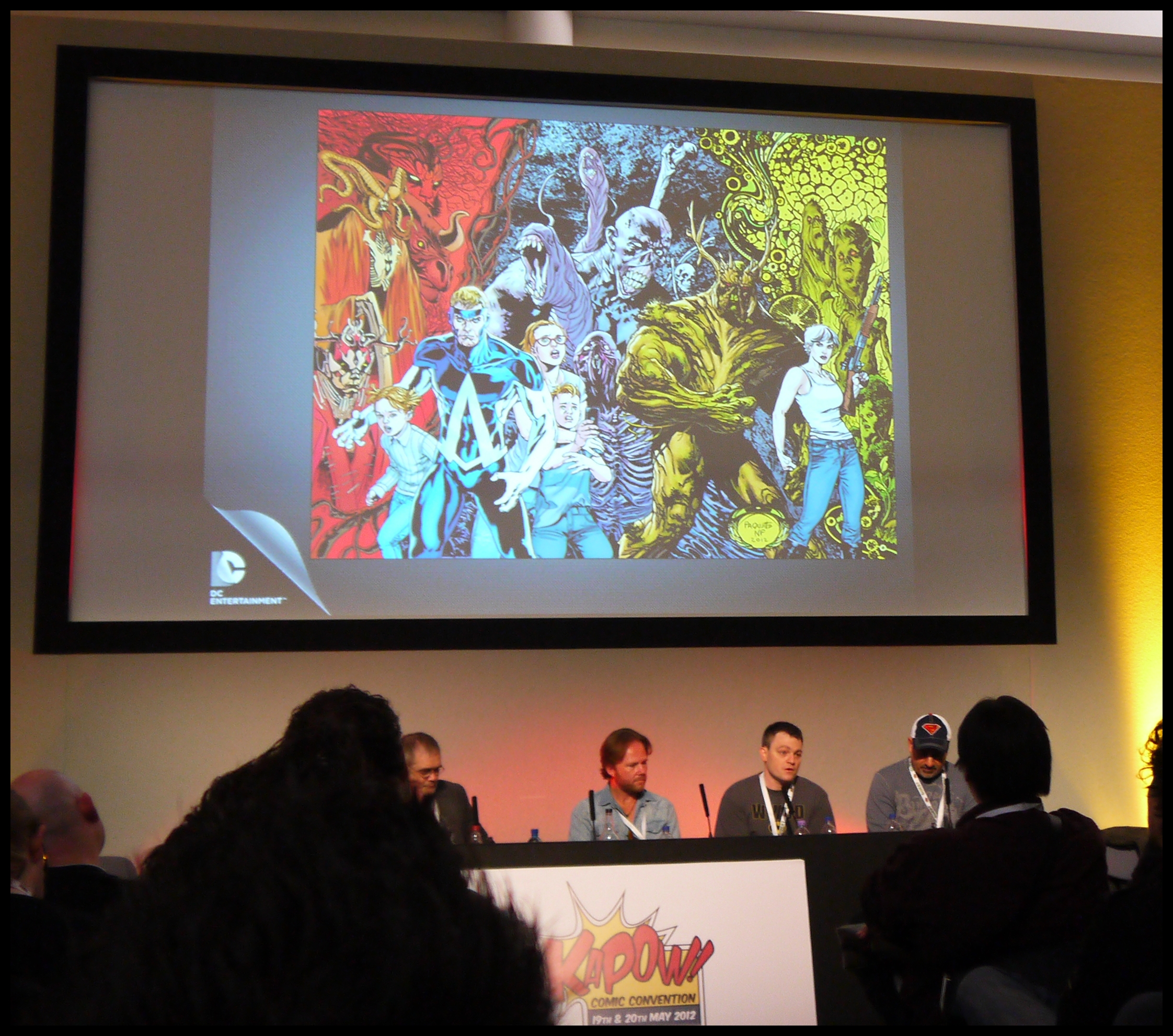 03 Kapow 2012  Panel DC New 52
