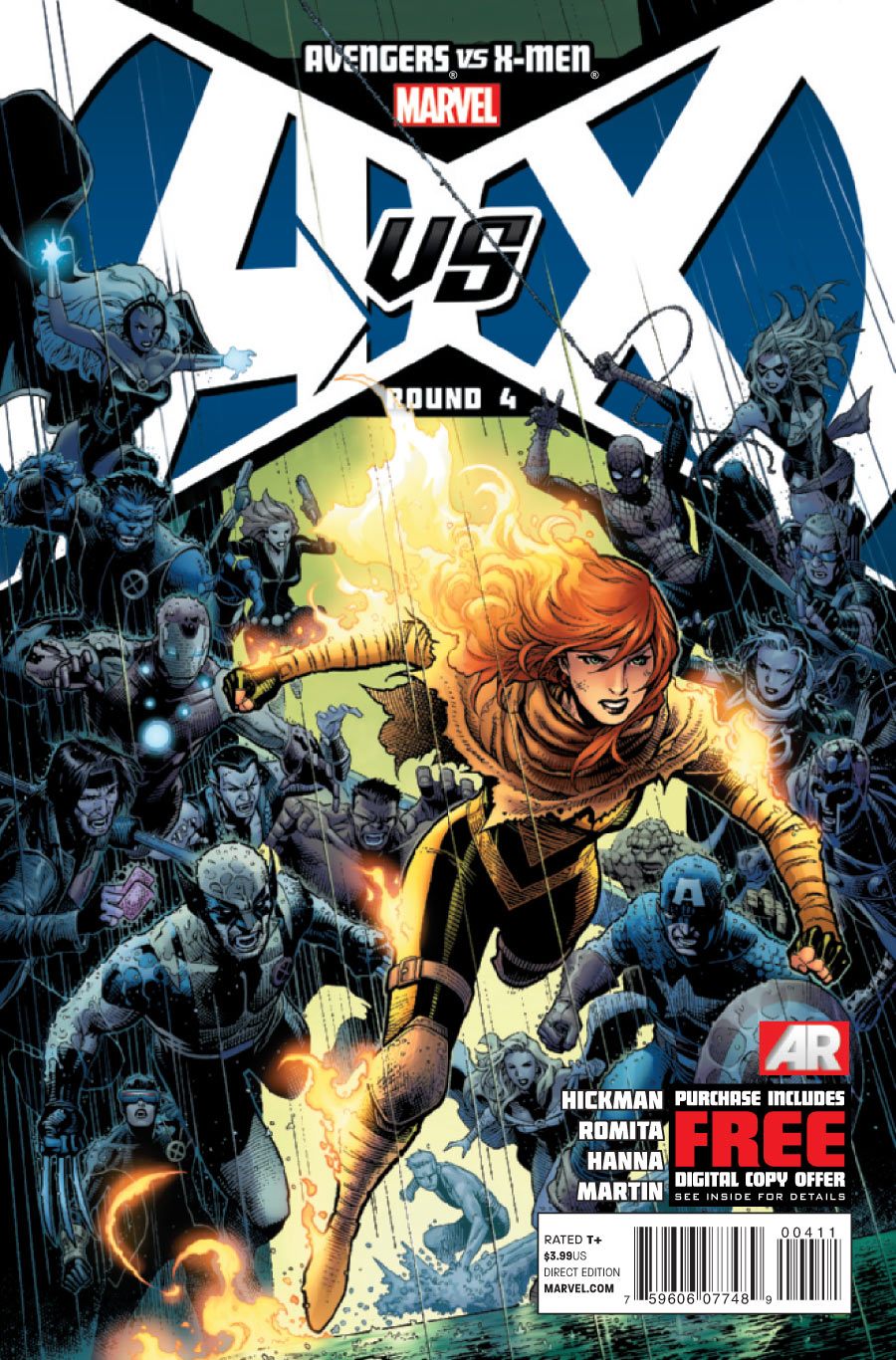 AVX4 Guide de lecture Marvel Comics : semaine du 16 mai 2012