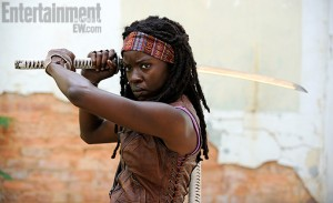 Michonne 300x183 News du 24 mai 2012