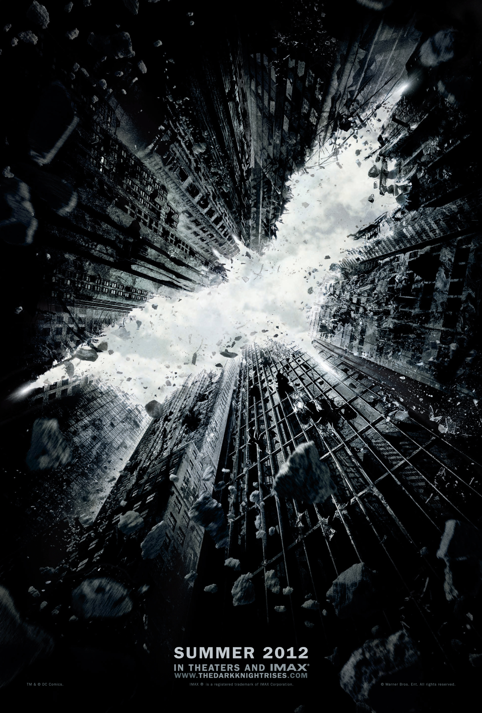 the dark knight rises poster teaser Box Office : Amazing Spider Man tient la route 