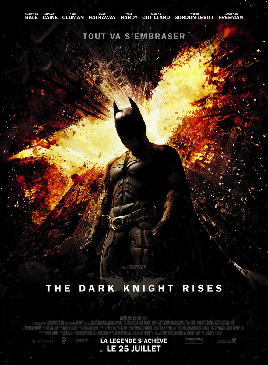 The Dark Knight Rises affiche
