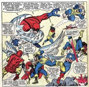 X-Men 9 panel