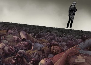 walkingdead100 wrap web72 300x215 Guide de lecture Comics VO : semaine du 11 juillet 2012 