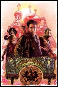 Couverture Uncharted  #1 par Tony Harris
