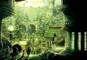 La légendaire Cité d'Oz