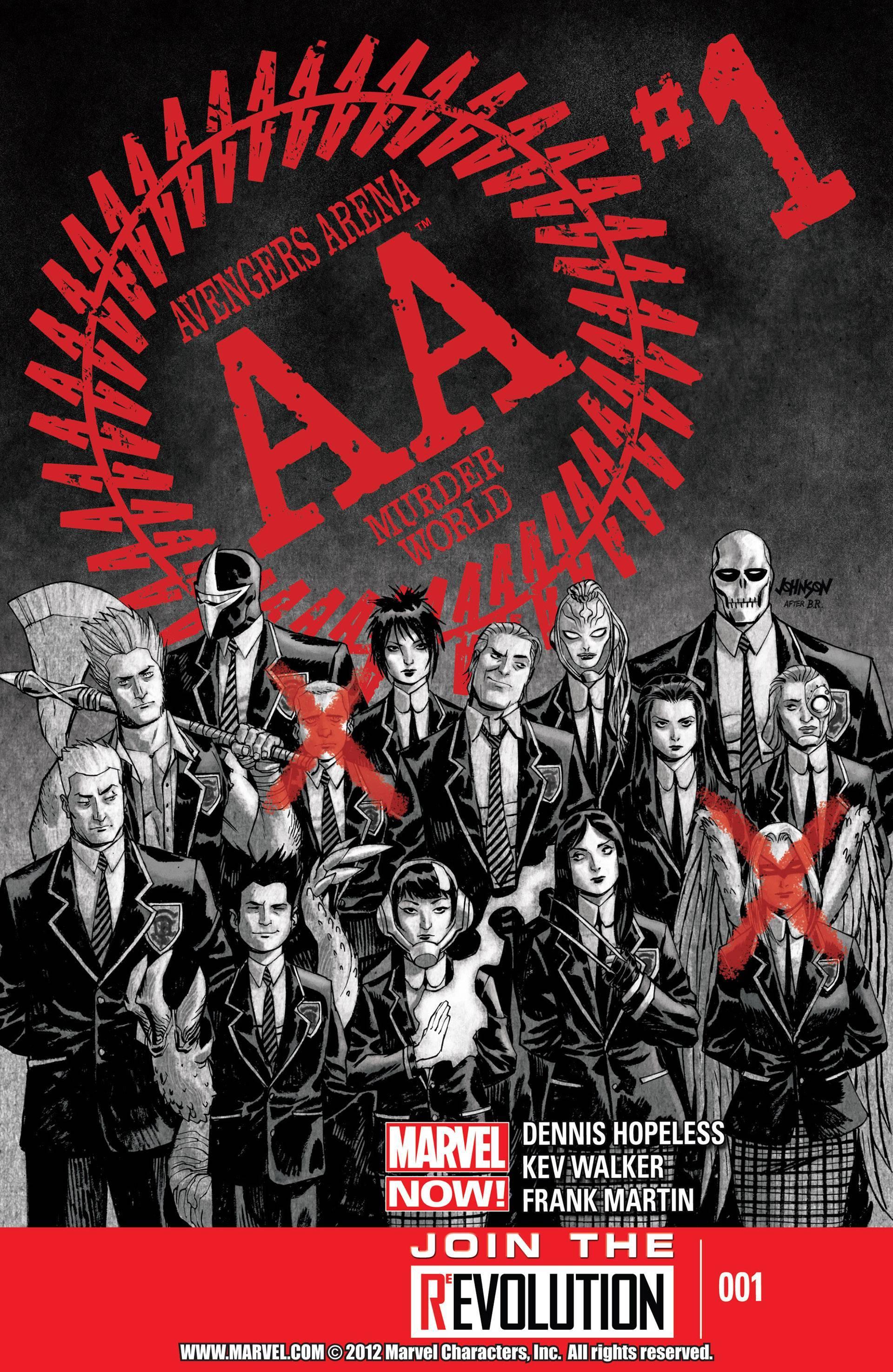 Avengers Arena 1