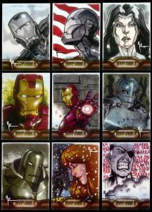 Cartes Iron Man 2