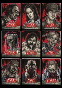 Cartes Walking Dead