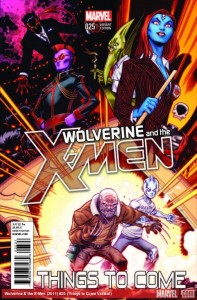 WOLVERINE AND THE X-MEN 25