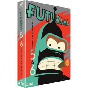 dvd-futurama-saison-5-6-coffret-4dvd