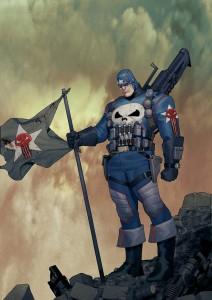 Un Punisher... sous le costume de Captain America ?!