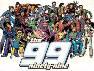 Les 99, une équipe (presque) aussi nombreuse que son nom l'indique !