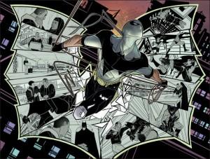 Nightrunner (Le Parkoureur dans la version française), le représentant de Batman à Paris !