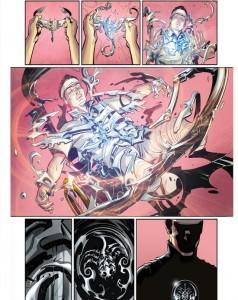 ...mais a quand même droit à son lot de scènes tout ce qu'il y a de plus classique pour un comic-book de super-héros !