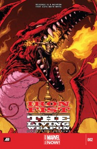 Iron Fist - The Living Weapon 002-000