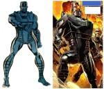 ... suivi de près par le Terminator made in Marvel (à gauche), dont le récent successeur (à droite) s'est pour l'instant fait très discret.