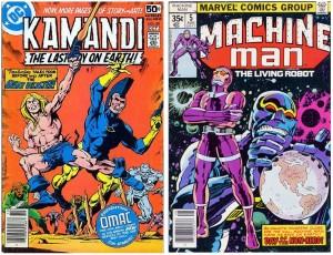 Kamandi OMAC Machine(Man