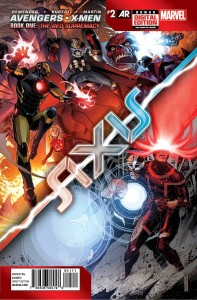AVENGERS AND X-MEN AXIS #2