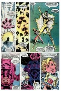 Un improbable hommage à la naissance du Silver Surfer et la solution la plus originale aux problèmes gastriques de Galactus : la page la plus mythique jamais dessinée des comics Marvel ?