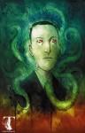 Un portait sombre et tentaculaire d'H.P. Lovecraft par Ben Templesmith.