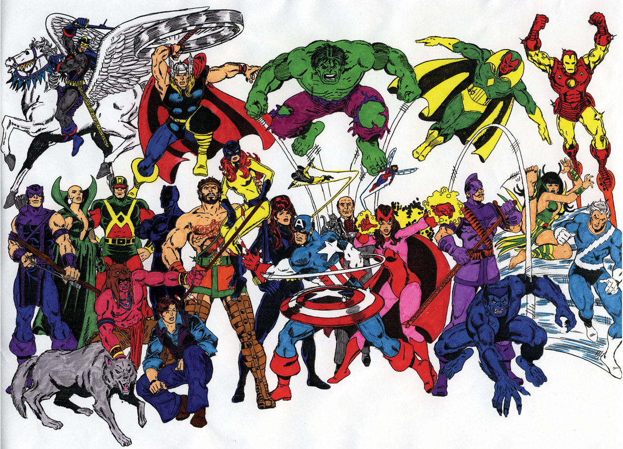 Avengers Group Shot