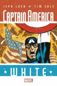 CAPTAIN AMERICA WHITE #1