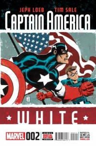 CAPTAIN AMERICA WHITE #2