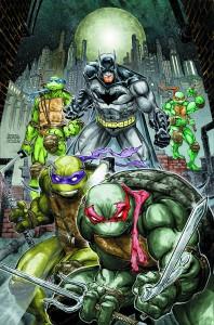 BATMAN TEENAGE MUTANT NINJA TURTLES #1