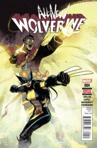 ALL NEW WOLVERINE #4