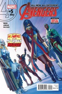 ALL NEW ALL DIFFERENT AVENGERS #5
