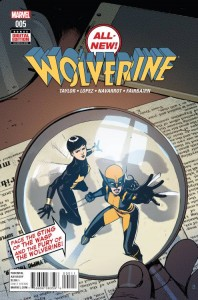 ALL NEW WOLVERINE #5