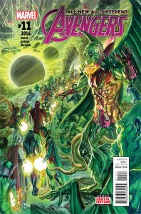 ALL NEW ALL DIFFERENT AVENGERS #11