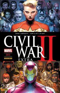 CIVIL WAR II EXTRA 1